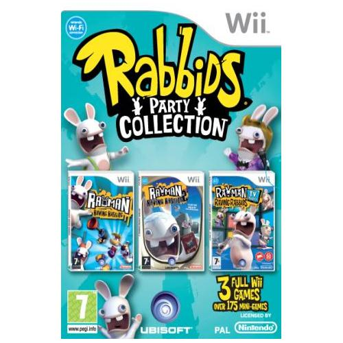 Wii: Rabbids Party Collection (Triple Pack)