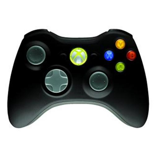Official Xbox 360 Wireless Controller (black)