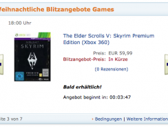 [Blitzangebot] 18:00 Uhr: Skyrim Premium Edition (PS3/X360) und Turtle Beach Headsets