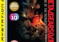 PS3: Metal Gear Solid 4: Guns of the Patriots (Platinum) für nur 16,05€ inkl. Versand