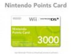 Nintendo Points Card 3000 für 15,66€