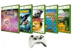 Xbox 360 Wireless Controller + Lego Batman + Pure + 3 Arcade Spiele für 25,65€ inkl. Versand
