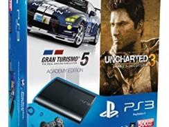 PS3 Bundle: Neue Slim Konsole + Gran Turismo 5 + Uncharted 3 für 298€