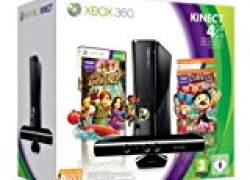 Amazon vs. Mueller: Xbox360 Slim 4GB + Kinect + Kinect Adventures und Kinect Carnival für 222€
