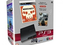 HOT: PS3 Slim 320GB Endzeit Bundle mit Resistance 3 und Battle L.A. Blu-ray für ca. 262€ inkl. Versand