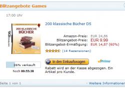 NDS: 200 klassische Bücher für 9,99€ (Blitzangebot)