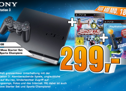 Friendly Reminder: PS3 320GB + Move Starter Pack + Game nur 299€