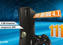 Reminder: XBOX360 4GB Version für nur 111€ bei Saturn
