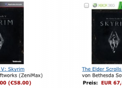 10 EUR sparen: GamesCom Deal des Tages: Skyrim ab 48€