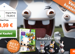 Xbox: Rabbids: Alive & Kicking (Kinect) Special Limited Edition für 44,99€