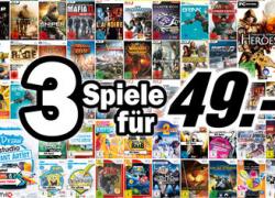 [Offline] Media Markt – 3 Spiele für 49€