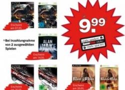 Neue PS3 & 360 Trade-in Aktion bei GameStop: Top Hits wie Split Seconds, Alan Wake oder Red Dead Redemption für je 9,99€