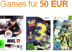 Amazon vs. Saturn: 3 Games für 50€