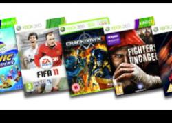 XBox 360 S 4GB inkl. Kinect und 4 Spielen für 296,67€ inkl. VSK