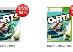 PS3 & XBOX: Dirt 3 für nur 19,37€ inkl. Versand