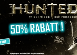 Gamestop Aktion: Hunted – Schmiede der Finsternix mit 50% Rabatt