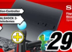 HOT: PS3 320GB inkl. Move im Media-Markt für 299€