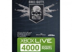 X360: Xbox 360 – Live 4000 Points (Call of Duty ELITE – Edition) für nur 41,55€ inkl. Versand