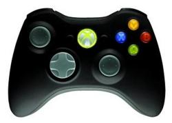 Xbox 360: Official Wireless Controller (black) für 24,49€ inkl. Versand