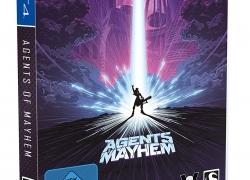Agents of Mayhem Steelbook-Edition (PS4) für 24,99€