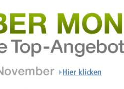 [MEGA AKTION] Cyber Monday vom 28. – 30. November bei Amazon